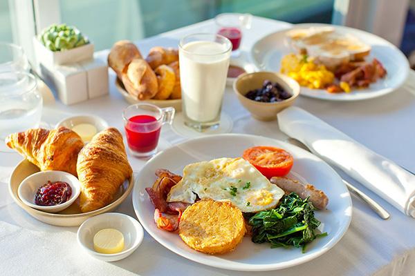 calo cho bữa sáng