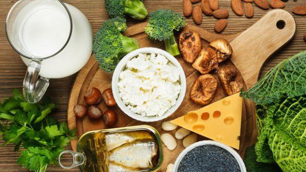 Các thực phẩm giàu canxi
