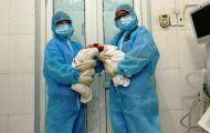 Thanh Hóa: Mổ lấy thai thành công cho 2 sản phụ mắc Covid-19 trong khu cách ly