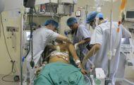 Căng mình cứu sống bệnh nhân vỡ tim do tai nạn giao thông