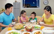Ðảm bảo dinh dưỡng hợp lý cho bữa ăn gia đình