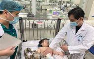 Kết quả chụp CT sọ não bé gái 2 tuổi rơi từ tầng 13